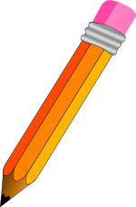 [clip-art image of a pencil]