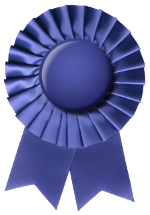 [stock image of a blue ribbon]