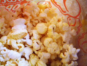 [stock photo of popcorn]