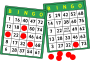 [clip-art depiction of bingo cards]